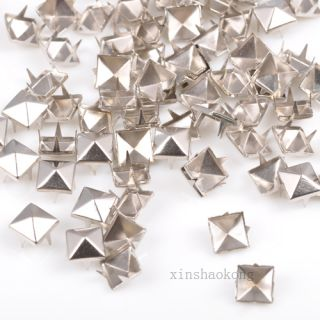 100 1000pcs Alloy Cone Studs Conical Spots Spike Personality Decorations