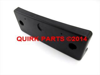 2011 2013 Nissan Murano Sport Front License Plate Bracket Mount New Genuine