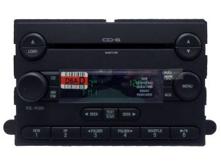 New Ford F250 F350 Focus Subwoofer Radio 6 Disc CD Changer 07 7S4T 18C815 DB