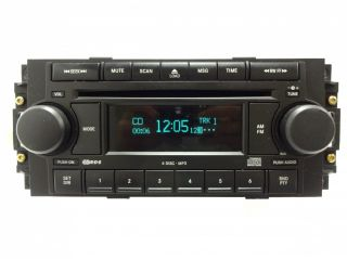 Dodge Dakota Caliber RAM Chrysler Jeep Radio 6 Disc Changer  CD Player RAQ