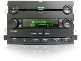 06 07 Ford Freestyle 500 F150 Mercury Montego Radio Aux  6 Disc CD Changer