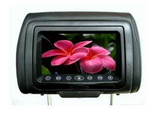 Pair Car Headrest Monitor DVD Player Touch Screen DVD in 3 Different Covers