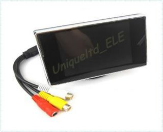Mini 3 5 inch TFT LCD Color Monitor Car Rear View Digital Monitor