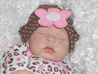 Newborn Baby Girl Nod by Donna RuBert Soft Body