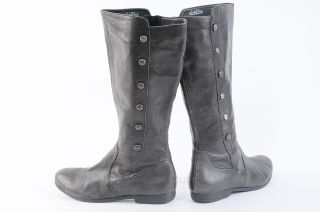 Womens Brown Knee High Flat Boots
