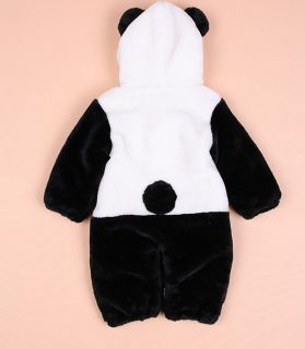 New Winter Animal Warm Jacket Coat for Boy Girl Baby Clothes Siamese Romper