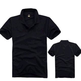 Mens Cotton Polo T Shirts Plain Short Sleeve Shirts 6 Colors Size L XXXL U007