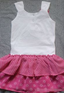 Baby Kid Girl Dora Minnie Princess Ruffle Tutu Skirt Top Dress Set Age 2 3 4 5 6
