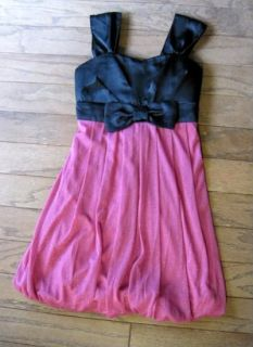 Baby Girls Red Dress Black Velvet Bodice Size 12 18 Months Blueberi New