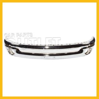 2002 2008 Dodge RAM 1500 Chrome Bumper Front Face Bar Wo Sport 03 09 R2500 R3500