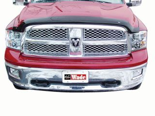 Smoke Bug Shield Wind Deflector 2010 2012 Dodge RAM Heavy Duty Wade 72 94136