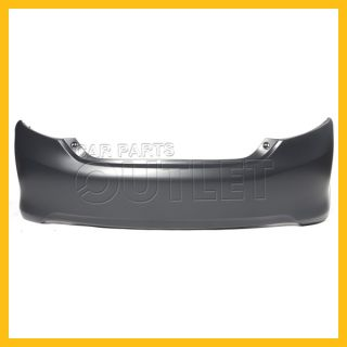 2012 2013 Toyota Camry Rear Bumper Cover New TO1100296C Primered Capa Le Hybrid