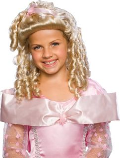 Black Blonde Storybook Princess Girl Wig Enchanted Snow White Child Costume Wig
