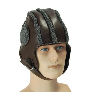 Adults Party Fancy Dress Hat Pilots Flying Helmet Cap