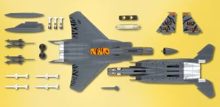 Model Airplane Kits F 15