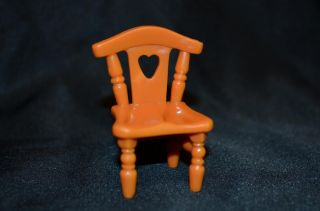 Fisher Price Sweet Streets Country Cottage Brown Chair Doll Replacement Part