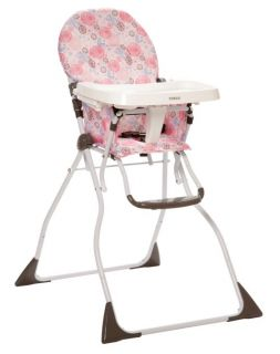 Cosco Slim Fold Baby Child Toddler Folding High Chair Casey HC185BXZ