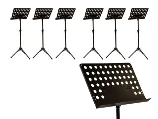 Heavy Duty Professional Folding Orchestra Band Conductor Music Stand 6 Pack