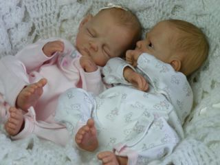 Precious BM Originals Reborn Baby Girl Dolls Twins