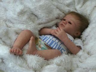 Beautiful Realistic Reborn Baby Boy Doll from 'Linzi's Beautiful Babies'