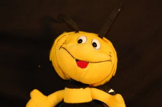 8' Plush Yellow Jacket Bumble Bee Coin Play Stuffed Animal Lovey Toy