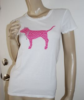 Victoria Secret Pink Polka Dot Dog