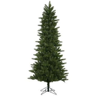 vickerman 7 5 green kennedy fir slim artificial christmas tree with