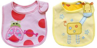 1pc Kid Infant Toddler Girl Boy Baby Bib Waterproof Multi Patterns Saliva Towel