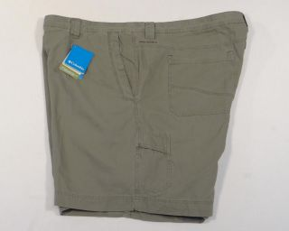 Columbia Military Green Ultimate Roc Shorts 100 Cotton Mens