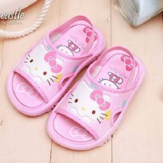 Hello Kitty Girls Toddler Slippers Sandals Pink Hotpink 812427