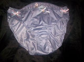 New Ribbons N Rosebuds Panties Size 10 Brief Adult Sissy Womens Mens TV CD Sexy