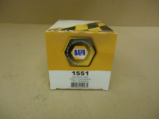 Napa Gold Hydraulic Oil Filter Spin on 1551