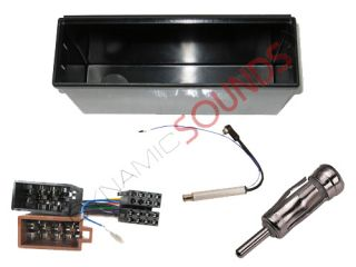 VW Volkswagen Golf MK4 Car CD Stereo Double DIN to Single DIN Fascia Fitting Kit