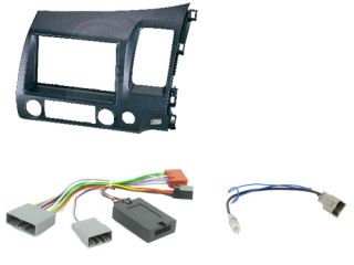 Honda Civic Hybrid Car Stereo Double DIN Radio Replacement Fitting Kit CTKHD02