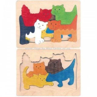 Children's Wooden Jigsaw Puzzles