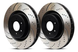 EBC Brakes GD7271 3GD Series Dimpled and Slotted Sport Rotor