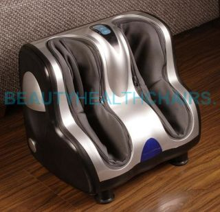 Brand New Beautyhealth BC 02A Calves Ankles Foot Legs Upgraded Massager Free