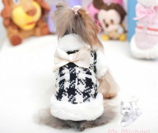 Autumn Winter High Quality Small Dog Clothing Coats Warm Jacket Sweater Clothes