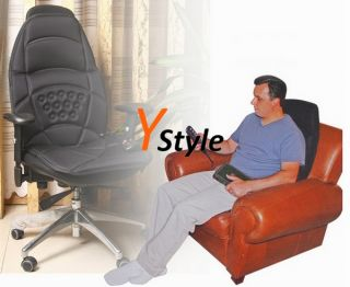 Far Infrared Heating Massage Chair Seat Cushion Vibrating for Sale