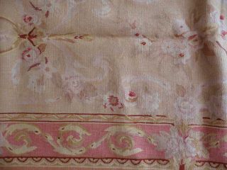 2'6''x10' Handmade Wool French Aubusson Flat Weave Runner Rug Newly Made