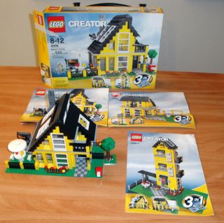 Lego Creator 4996 Beach House 3 in 1 100 Complete with Box and Manuals Nice