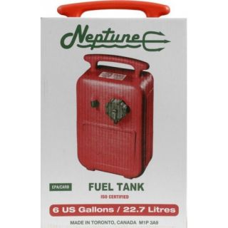 Scepter 6 Gallon Tank EPA Mechanically Vented Fuel Cap Ensures Easy Gripping