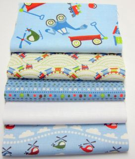 "Riley Blake Fabric Rag Quilt Kit 84 6"" Sqs Scoot Fun Colors"