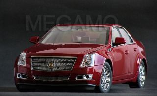 1 18 GM Cadillac cts 2009 Crystal Red Dealer Kyosho