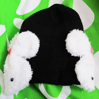 Baby Girl Boy Children Winter Xmas Christmas Hat Rabbit Bunny Earmuffs Warmer