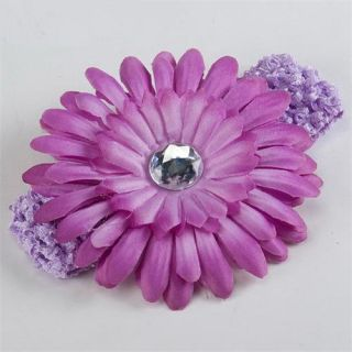 Cute Baby Girls Crochet Headband Daisy Flower Hair Clip  Wholesale