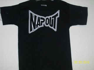 "Tapout ""Napout"" T Shirt Babies Toddlers Kids Pick Size"