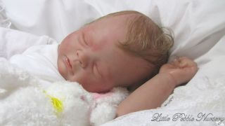 Little Pebble Nursery Reborn Preemie Landon Kit by T Yarie Now Baby Charlotte