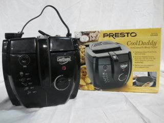 Presto Top Quality Charcoal Air Filter Cooldaddy Cool Touch Deep Fryer
