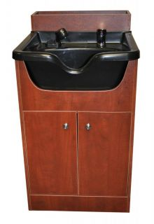 Salon Shampoo Bowl Cabinet Shampoo Backwash Unit  3 Colors